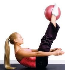 Pilates for riders: ball exercises