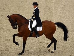 tension and stiffness in dressage