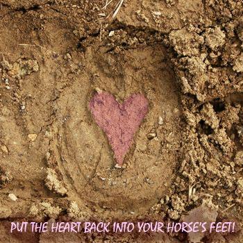 heart hoofprint