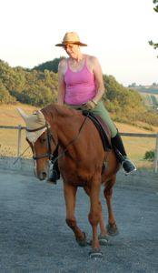 rider health: straightness